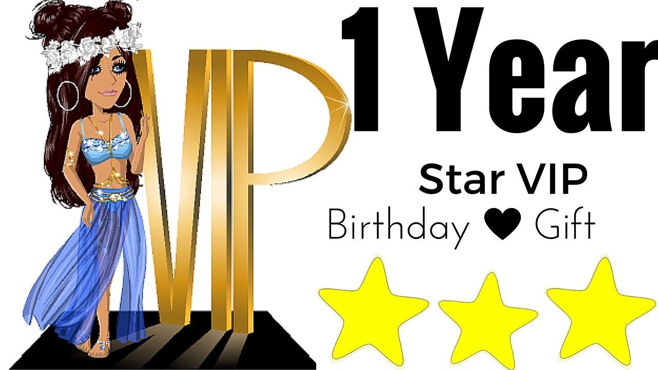 1 Year Star Vip | Its my birthday :D - YouTube