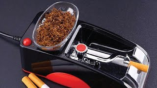How to Use Autoṁatic Cigarette Rolling Machine? 2021 Review