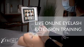 Xtreme LIVE Online™ Eyelash Extension Certification Training & Career Builder Packages