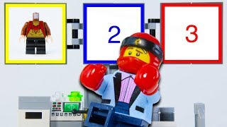 LEGO Experimental Ninjago Kai Minifigure STOP MOTION LEGO Kai Builds Hagrid | LEGO | Billy Bricks