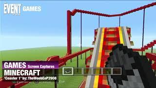 GAMES - Screen Capture Minecraft   Coaster 1