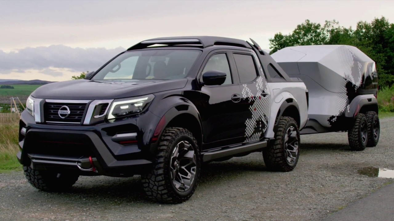 Nissan Navara Dark Sky Concept - YouTube