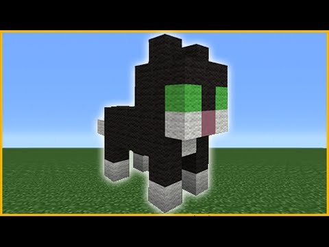 Image of: Farm Minecraft Tutorial How To Make Cute Cat Statue Youtube Minecraft Tutorial How To Make Cute Cat Statue Youtube