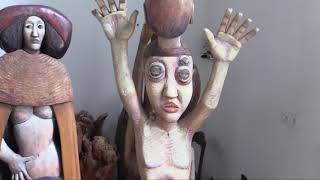 Exposition scultures de Pierre Merlier.