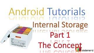 151 Android Internal Storage Part 1 |