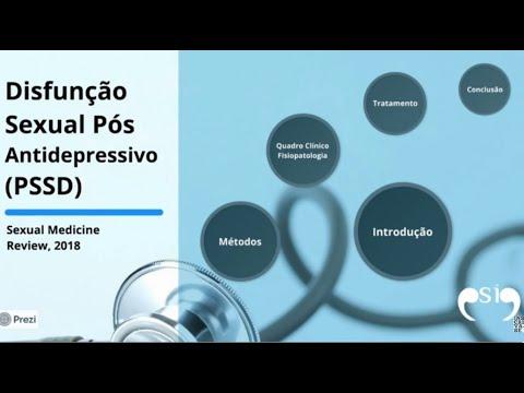 PSSD: sertralina, fluoxetina,