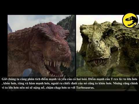 Khủng Long #3 | Tarbosaurus và T rex, con nào sẽ thắng?