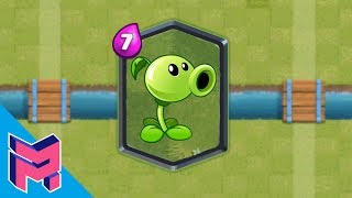 Peashooter in Clash Royale Hack Animation