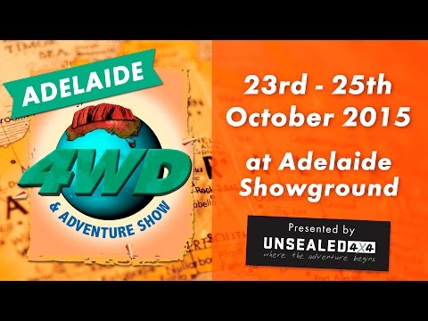 Start your adventure at the Adelaide 4WD & Adventure Show