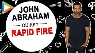 "John Abraham: ""I have a CRUSH on…"" 
