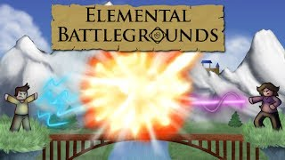 Roblox Malaysia Elemental BattleGrounds: Mari Fight! dgn [ELEMENT] Grass!