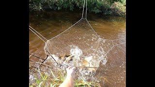 карась кипит в микроречке рыбалка на паук подъемник рекомендую посмотреть