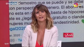 Amalia Granata Le Respondió A Luciana Salazar Y Su Tuit Sobre El Aborto