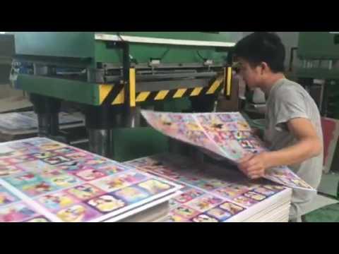Puzzle Press Machine For 1000 Pcs--300 Tons, 500 Tons.