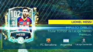PEGUEI A LENDA LIONEL MESSI 102 TOTSSF - FIFA 20 MOBILE