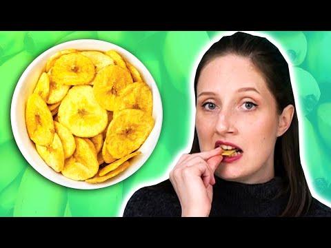 Irish People Try Plantain Snacks