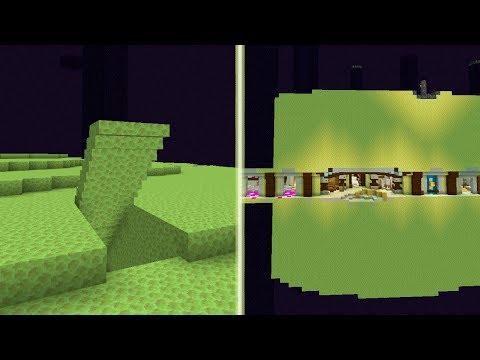Minecraft Sekretna Baza W Endzie Ukryty Dom Tidzimi