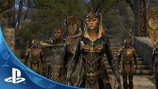 This is The Elder Scrolls Online: Tamriel Unlimited - Exploring Tamriel | PS4