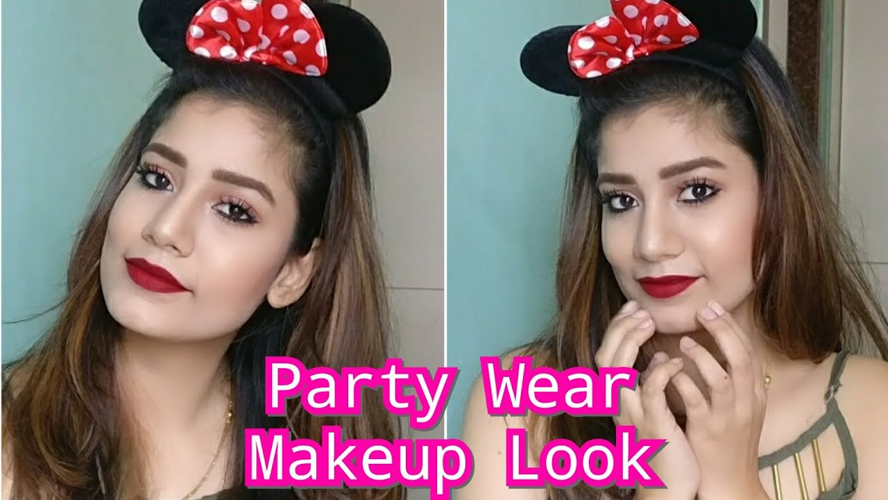 Party Wear Makeup Look Full Glam