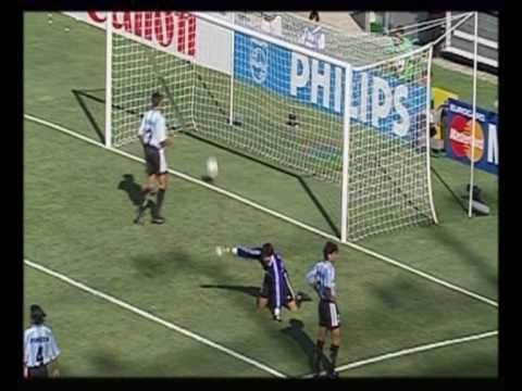 WC 1998- Dennis Bergkamp goal