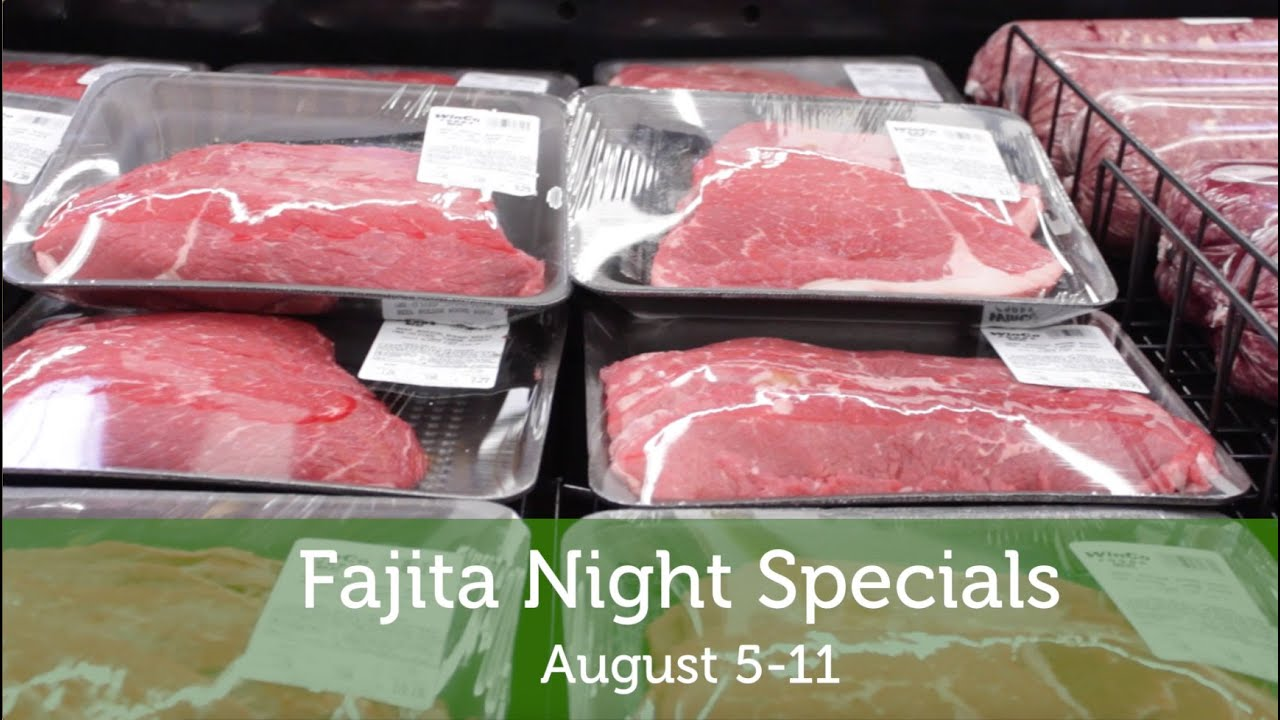 Winco Meat Department Specials August 5 11 2015 Youtube
