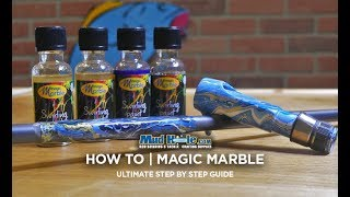 HOW-TO: Mad Swirl Magic Marble on Custom Fishing Rod Components