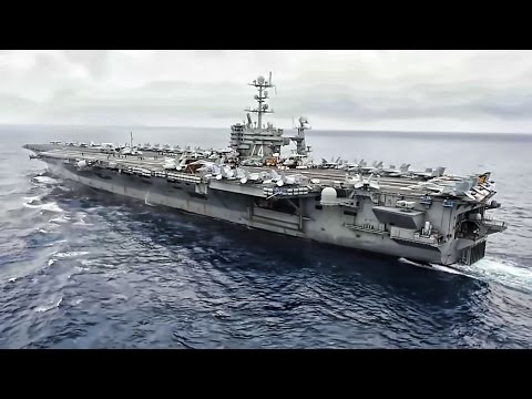 USN Continues Dual Aircraft Carrier Action In Philippine Sea