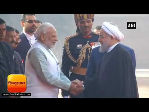 भारत-ईरान प्रत्यर्पण संधि समेत 9 समझौतों पर हस्ताक्षर II Hassan Rouhani meets PM Modi