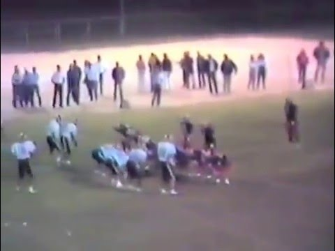 1989 Stilwell Indians at Roland Rangers Football