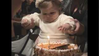 День рождения Ксюши Малафеевой (1 годик)