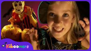 Halloween Halloween | Halloween Songs for Kids | Spooky and Scary Song | The Kiboomers thumbnail