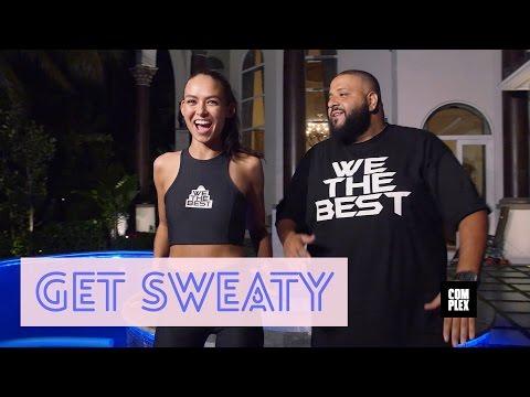 """DJ Khaled On """"Get Sweaty"""" With Emily Oberg"""