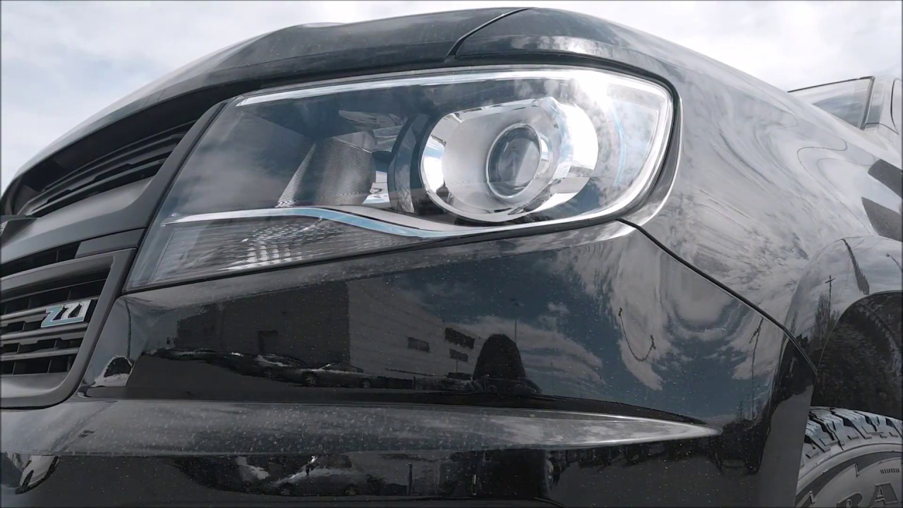 2017 Duramax Diesel Chevrolet Colorado in Winnipeg Manitoba - YouTube