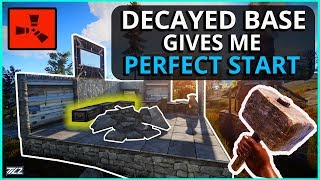 Gambar cover This DECAYED BASE Gave Me The PERFECT START! Rust Solo Survival (Episode 1)