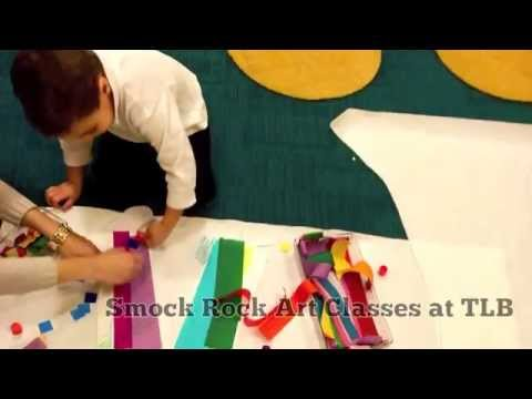 Smock Rock Music-Inspired Art Classes at TLB Music - YouTube
