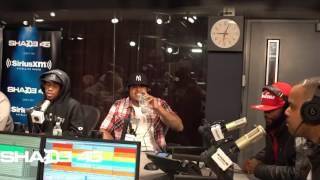 DJ KAY SLAY -- SHADE 45 -- DA CLOTH -- LIVE  FREESTYLE!!!
