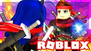 NINJA TRAINING OBBY SCHOOL IN ROBLOX!