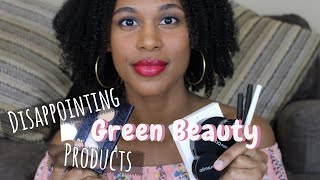 Disappointing Green Beauty Products | Products That Didn't Work for Me