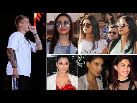 Justin Bieber Mumbai Concert 2017 | Purpose Tour 2017 | Bollywood Celebs