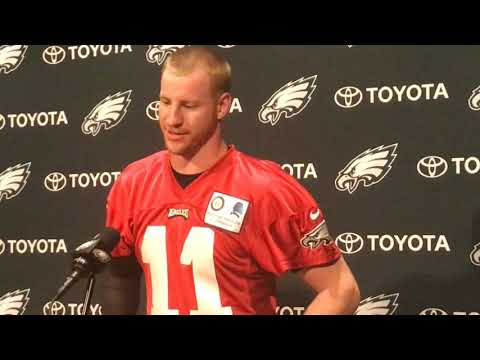 Eagles' Carson Wentz updates ACL recovery