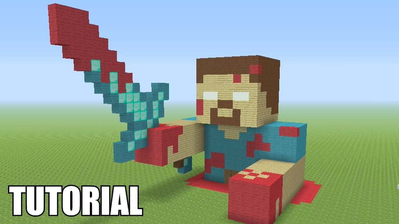 Minecraft Tutorial: How To Make A BLOODY HEROBRINE ...