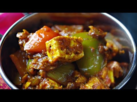 recette indienne kadhai paneer fromage indien youtube. Black Bedroom Furniture Sets. Home Design Ideas