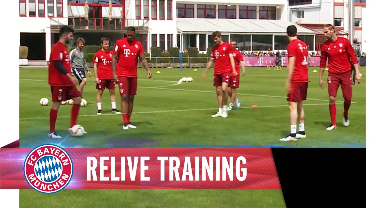 Freies Training Bayern München