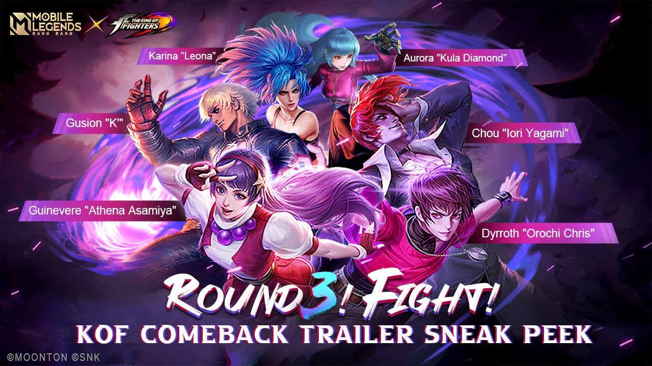 ROUND 3! FIGHT!  | KOF Comeback Trailer | Mobile Legends: Bang Bang
