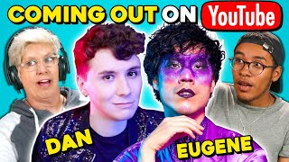 Download Generations React To Dan Howell & Eugene Lee Yang Coming Out On YouTube Mp3 and Videos