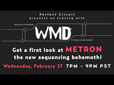 WMD Metron In Store Demo & Q+A
