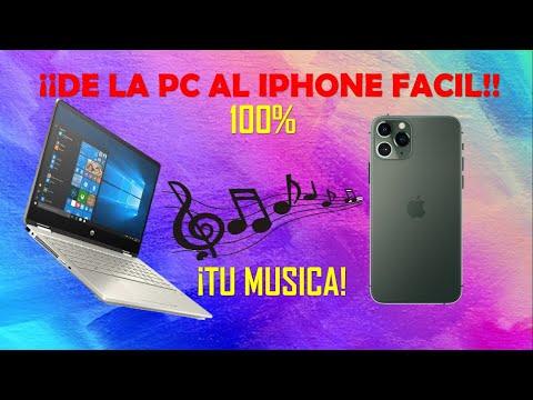 Pasar musica de pc a iphone