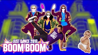 Just Dance 2018 with a baby: BOOM BOOM Gameplay 5 STAR MEGASTAR   Jayden Rodrigues