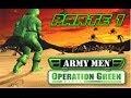 Army men - Operation green   Parte 1   Walktrough   Mision 1 y 2   Español