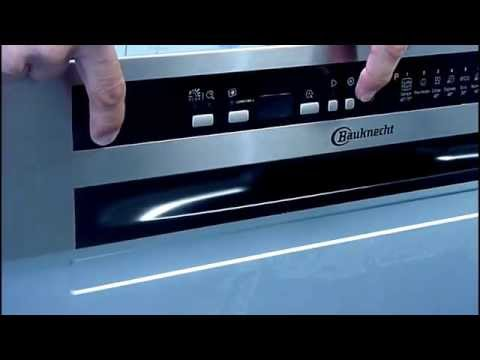 how to adjust water hardness settings on a whirlpool or bauknecht dishwasher youtube. Black Bedroom Furniture Sets. Home Design Ideas
